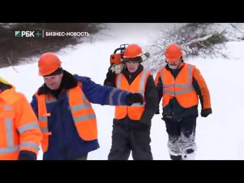 Россети устраняют проблемы, вызванные снегопадом