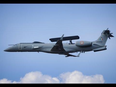 Indian Air Force Embraer ERJ-145 FULL HD