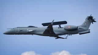 Indian Air Force Embraer ERJ-145 FULL HD