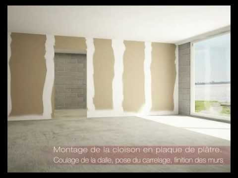 porte en pose fin de chantier paul ceyrac e couliss youtube. Black Bedroom Furniture Sets. Home Design Ideas