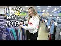 THRIFT SHOPPING FOR THE FIRST TIME + haul | Goodwill