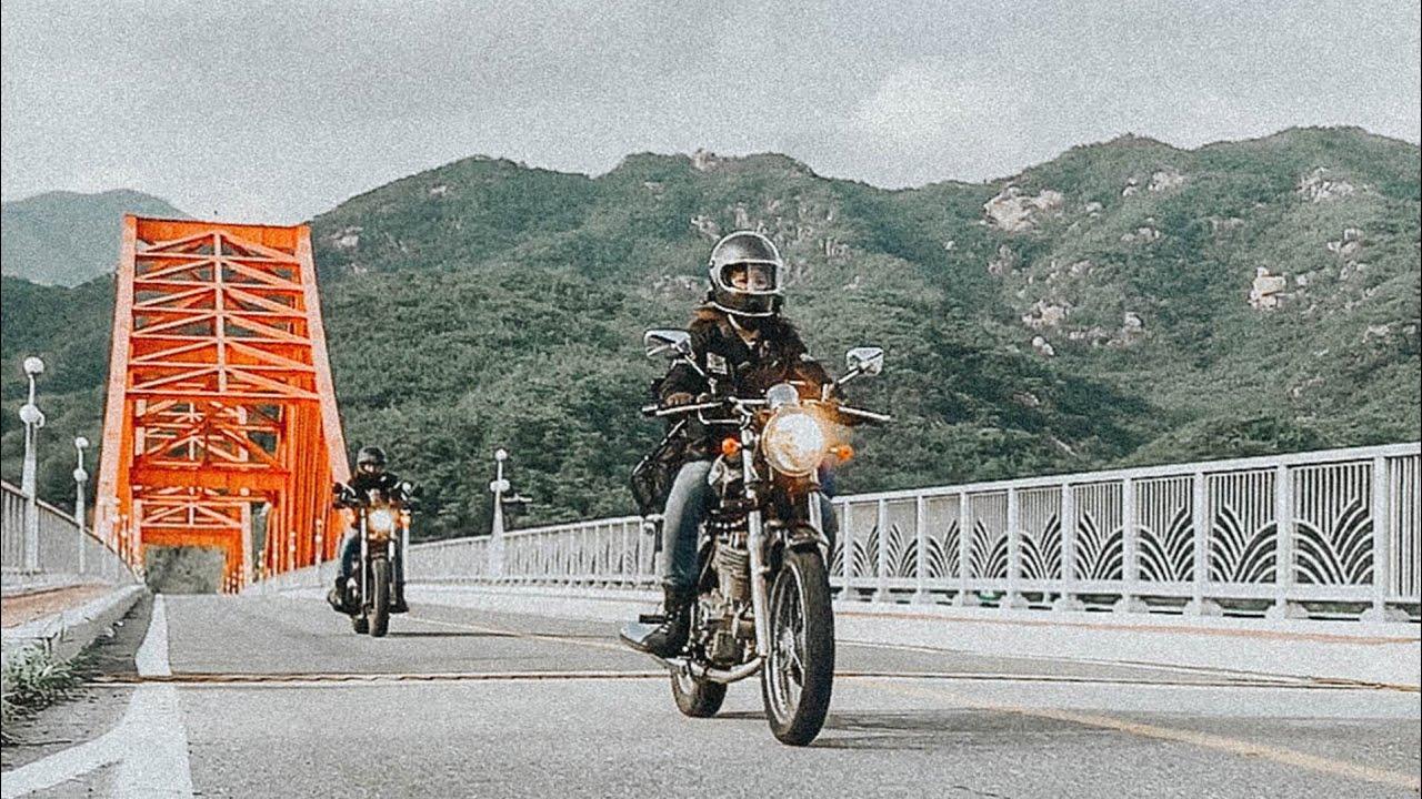 아빠와 첫 바이크여행|제천청풍호|청풍호카약체험오토바이|욜로졸로여행기