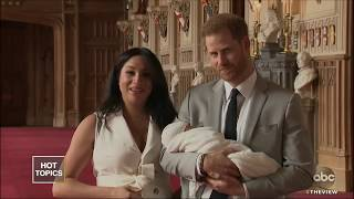 First Photos Of Royal Baby! | The View