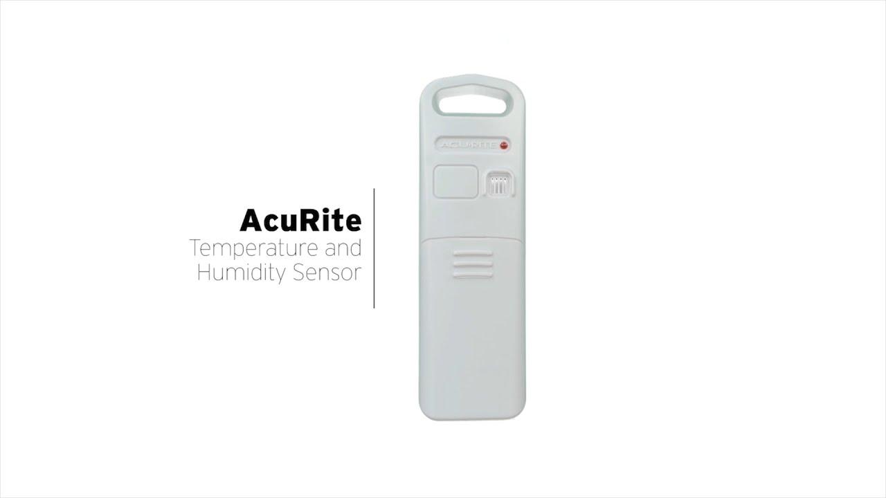 AcuRite Temperature and Humidity Sensor 592TXR/06002RM