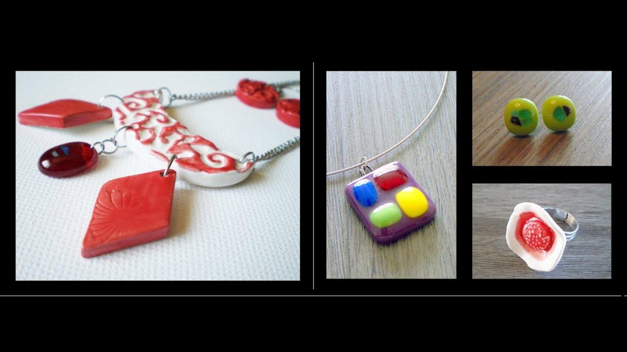 Bijoux artisanaux verre fusing et céramique Julie & Co Créations La ...