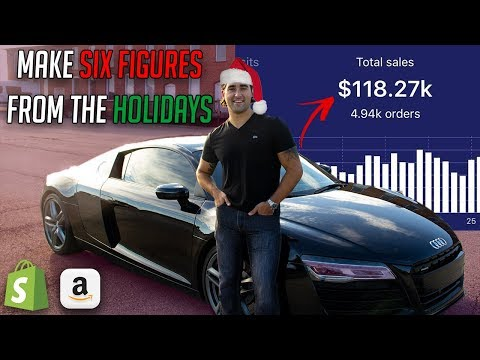 Make 6-Figures With Shopify Dropshipping And Amazon FBA During The Holidays