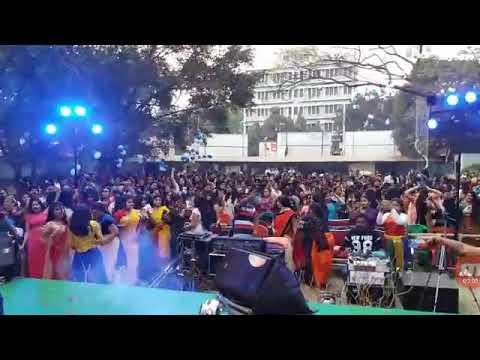 Vasan Dance Durga puja in kanchrapara clg...