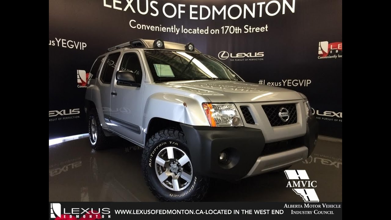 hight resolution of used 2012 silver nissan xterra 4wd auto pro 4x in depth review calgary alberta