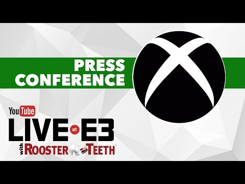 Xbox E3 2017 Press Conference + Pre-Show and Post-Show - YouTube Live at E3 with Rooster Teeth