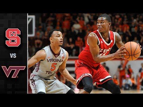NC State vs. Virginia Tech Basketball Highlights (2017-18)