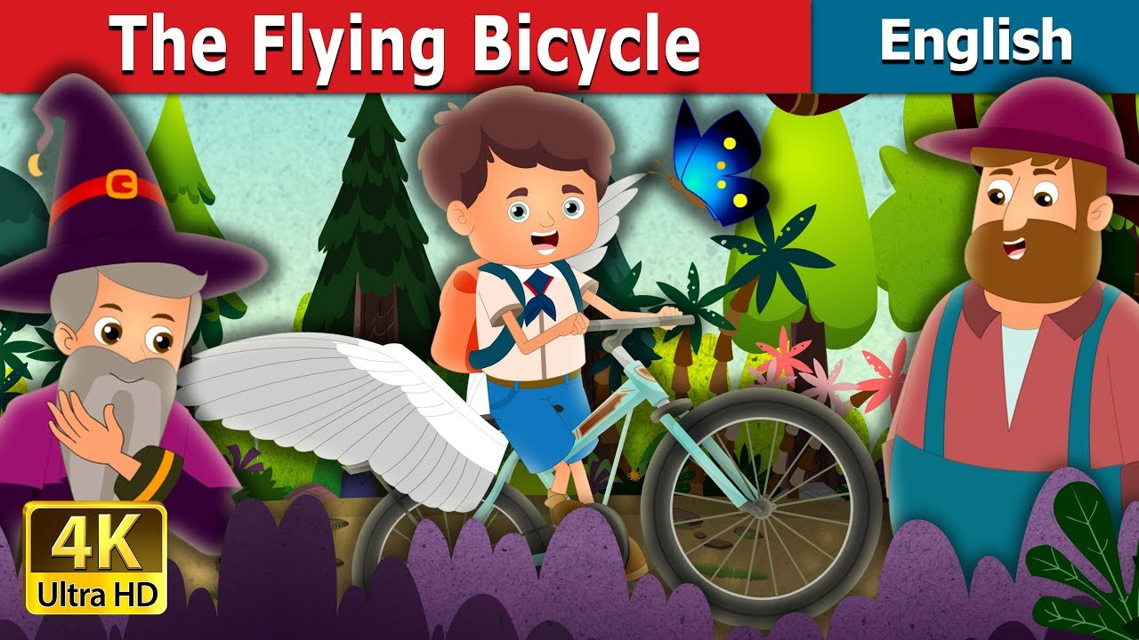 Download The Flying Bicycle Story in English   Stories for Teenagers   English Fairy Tales