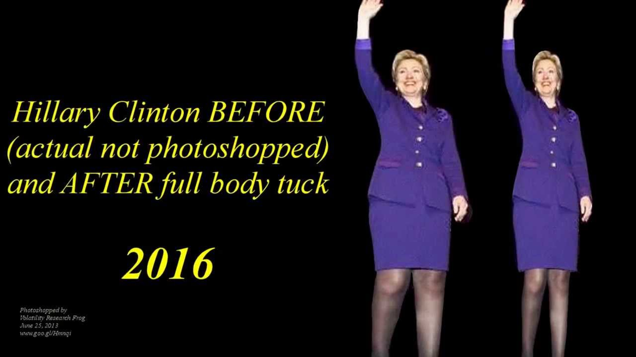 That was NOT Hillary in Selma. |Hillary Clintons Body