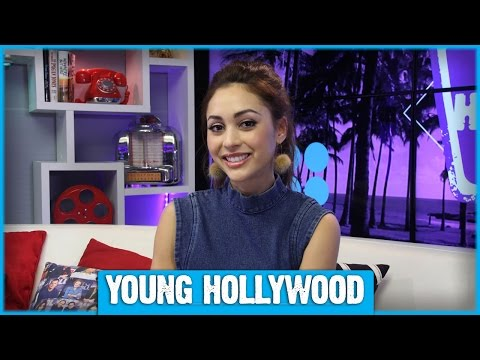 THE 100's Lindsey Morgan Gets a Back Massage