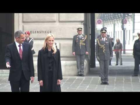 U.S. Ambassador Alexa L. Wesner Presented Credentials