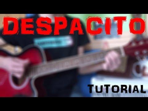 DESPACITO - Luis Fonsi ft. Daddy Yankee ACORDES FÁCILES GUITARRA. TUTORIAL (Cómo  tocar  en Guitarra