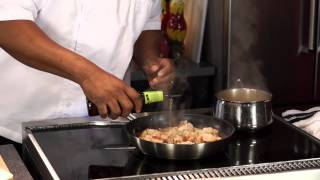 Dirty Rice & Shrimp With Beer Butter Sauce - Cooking Today With Chef Brooks