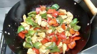 Chicken And Bell Peppers Stir Fry Recipe