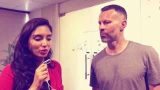 Zainab Abbas interviews Ryan Giggs in Pakistan