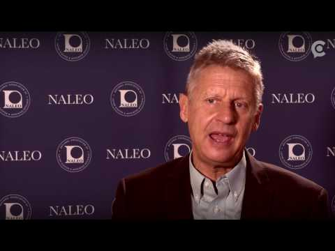 Libertarian Gary Johnson thinks the presidential elections are a rigged system