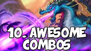 10 Awesome Descent of Dragons Combos | Hearthstone