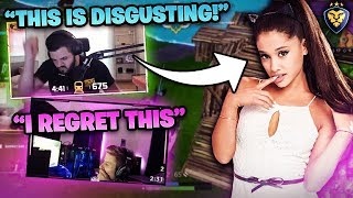 SYMFUHNY TRIES TO STEAL ARIANA?! IT'S NOW A WAR! (Fortnite: Battle Royale)