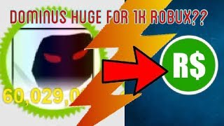 Dominus Riesig für 1.000 Robux!!??| Ist es es wert!!??| Roblox Haustier Simulator |
