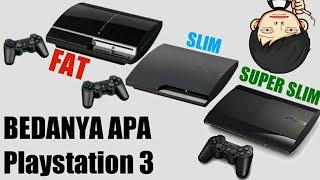 Perbedaan PS3 Slim Seri 20 21 25 dan 30 #sotta