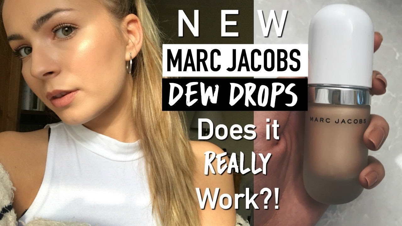 NEW! Marc Jacobs Dew Drops Highlighter | Test It Tuesday ...