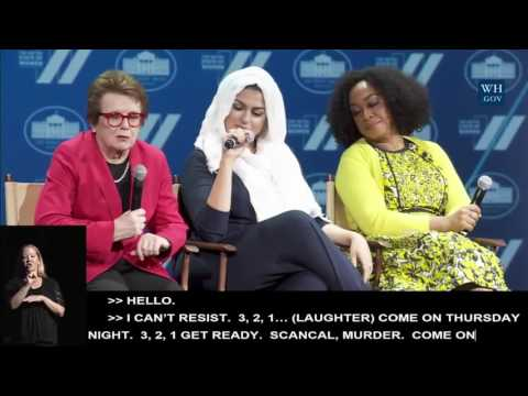 MG @ The United State of Women Summit (Plenary Session)