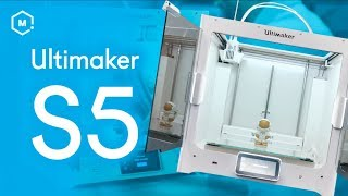 The New Ultimaker S5 // 3D Printer