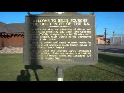 Belle Fourche, South Dakota - Geographical Center of the Nation