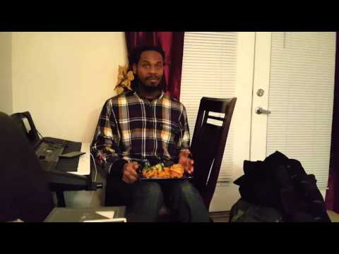 Man tries Puerto Rican food for the first time. HILARIOUS!!