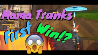 Mama Trunks First Win?! (Funny)