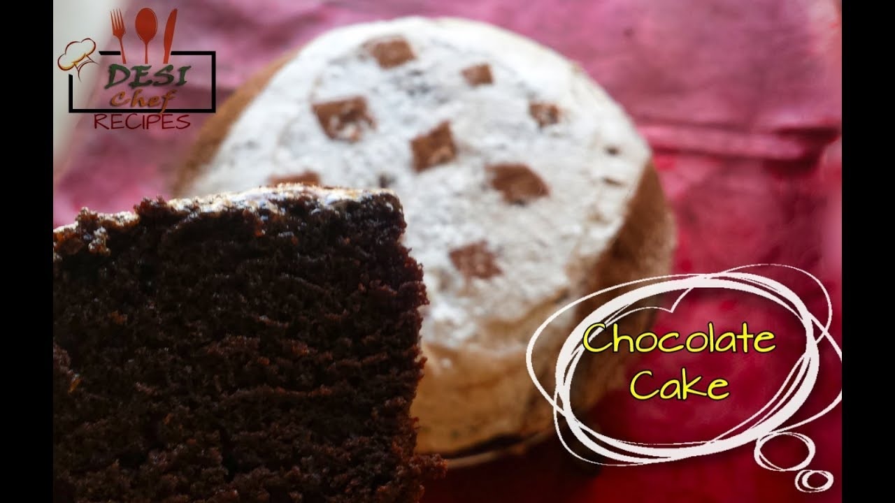 How To Make Chocolate Cake Without Oven Recipe ...