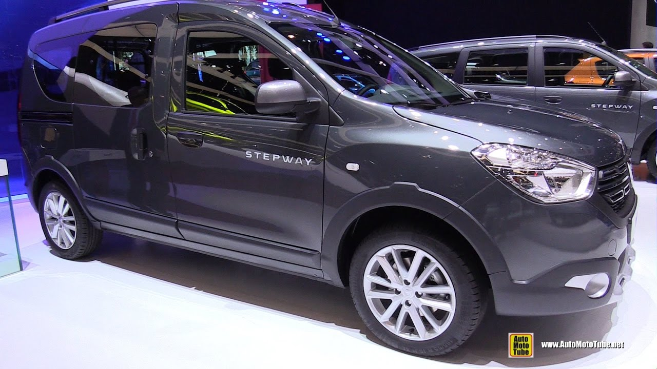 2017 dacia dokker stepway exterior and interior walkaround 2017 geneva motor show youtube. Black Bedroom Furniture Sets. Home Design Ideas