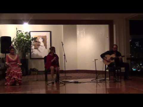 Casa de España San Antonio, Cena de Gala 2014, Flamenco