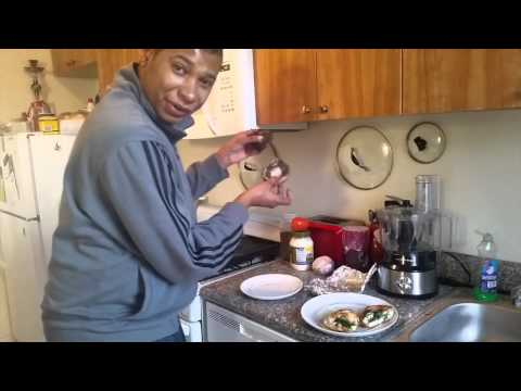 Cooking With Alex: Portobello Mushroom Sandwich
