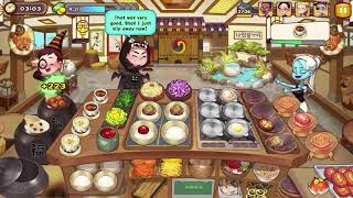 Cooking Adventure - Korean Restaurant Level 44 - Full Upgrade screenshot 3