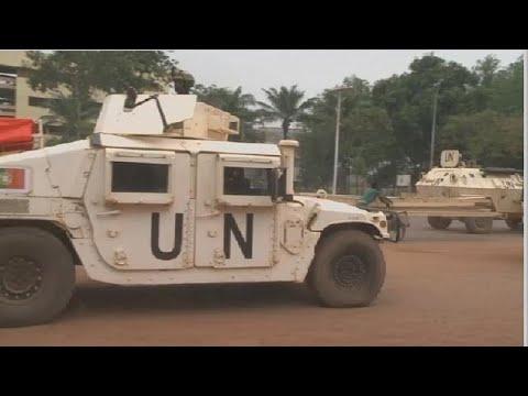 RCA : un casque bleu tué à Bangui