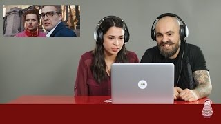 Итальянцы смотрят клип Ленинград