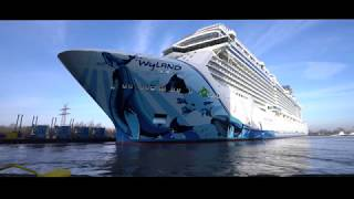 MEYER WERFT Ausdocken | Float Out Norwegian Bliss