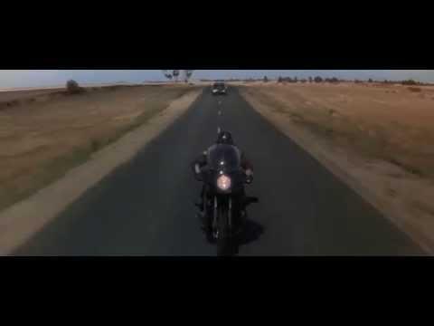 mad max (1979)- truck vs biker scene