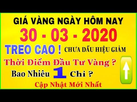 giá vàng 9999 hôm nay 30/3/2020 bao nhiêu một chỉ ? | giá VÀNG SJC 9999 24K Giá Cao Chót Vót ?