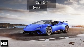 HOT NEWS  !!!  Lamborghini Huracán Performante Spyder 2019 Looks Stunning