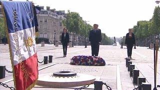 Лидеры ЕС отметили 75-летие окончания Второй мировой в одиночестве …