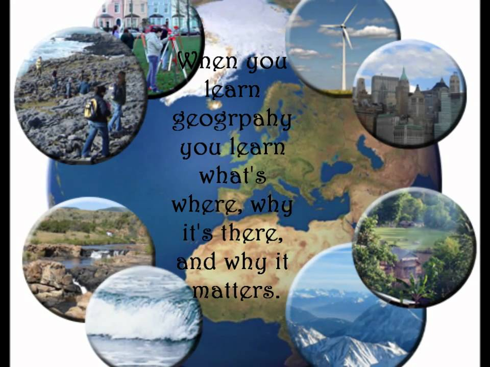 What is Geography - YouTube