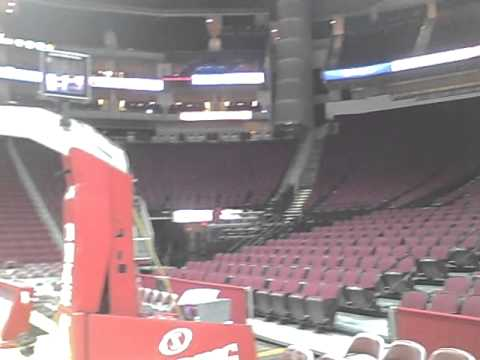 Entrance into the Toyota Center