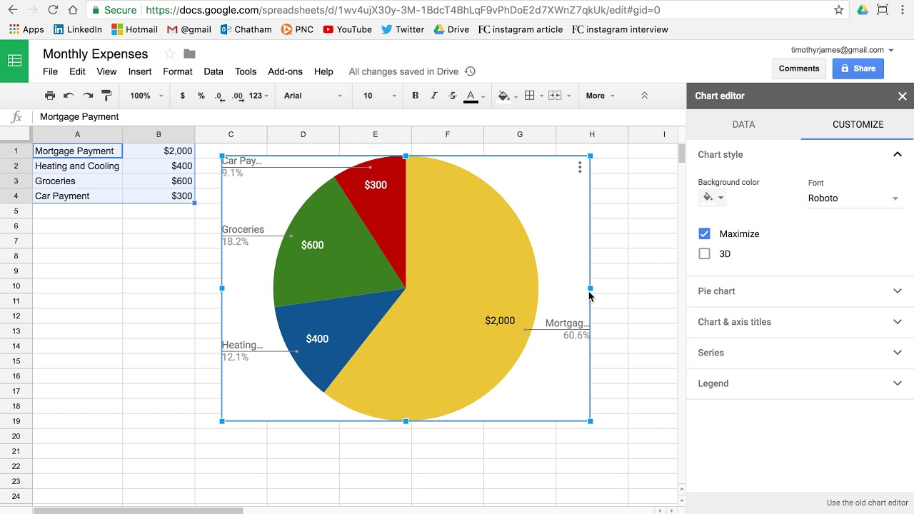 Pie charts introduction to programming with google sheets 04 e pie charts introduction to programming with google sheets 04 e nvjuhfo Choice Image