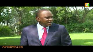 One on One with President Uhuru Kenyatta