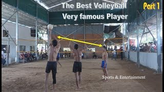 The Best volleyball very famous player in Asia country || English USA speaker July 2018 (Part1)